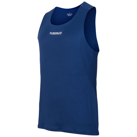 Fusion Mens C3 Running Singlet_Colour: Night