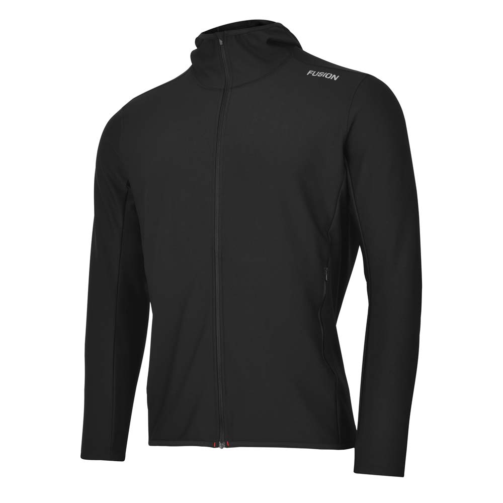 Fusion Men's Recharge Hoodie_Colour: Black