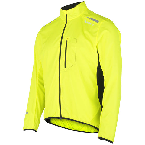 Fusion S1 Men's Shell Jacket_Running Cycling_Colour: Yellow