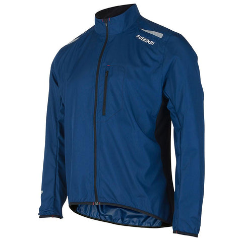 Fusion S1 Men's Shell Jacket_Running Cycling_Colour: Night