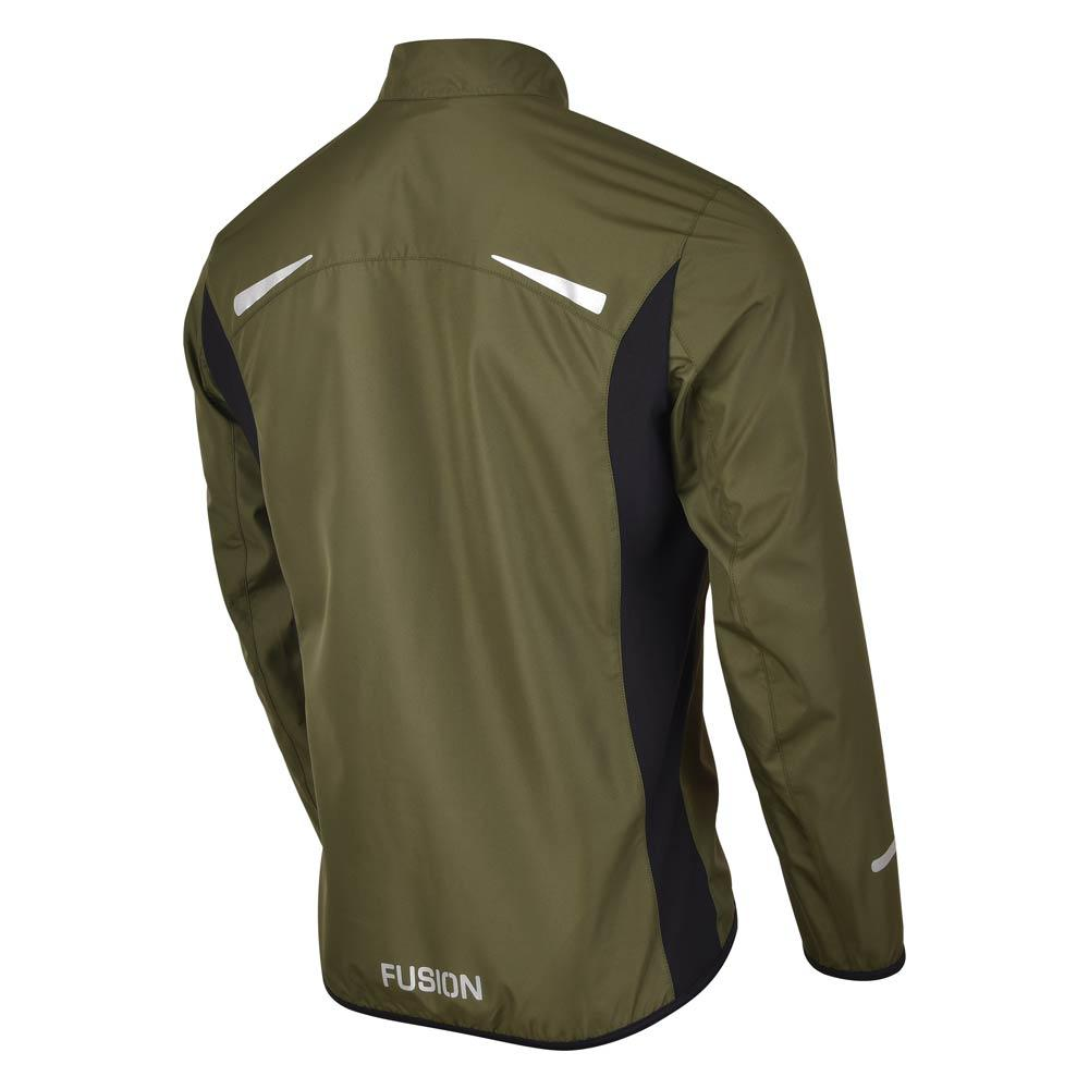 Fusion S1 Men's Shell Jacket_Running Cycling_Colour: Green