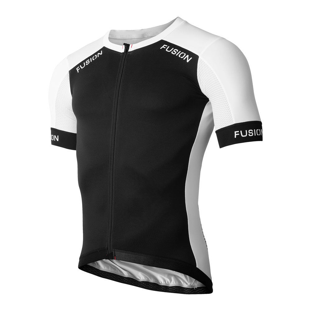 Fusion SLi Cycle Jersey (HC)_Colour: Black/White