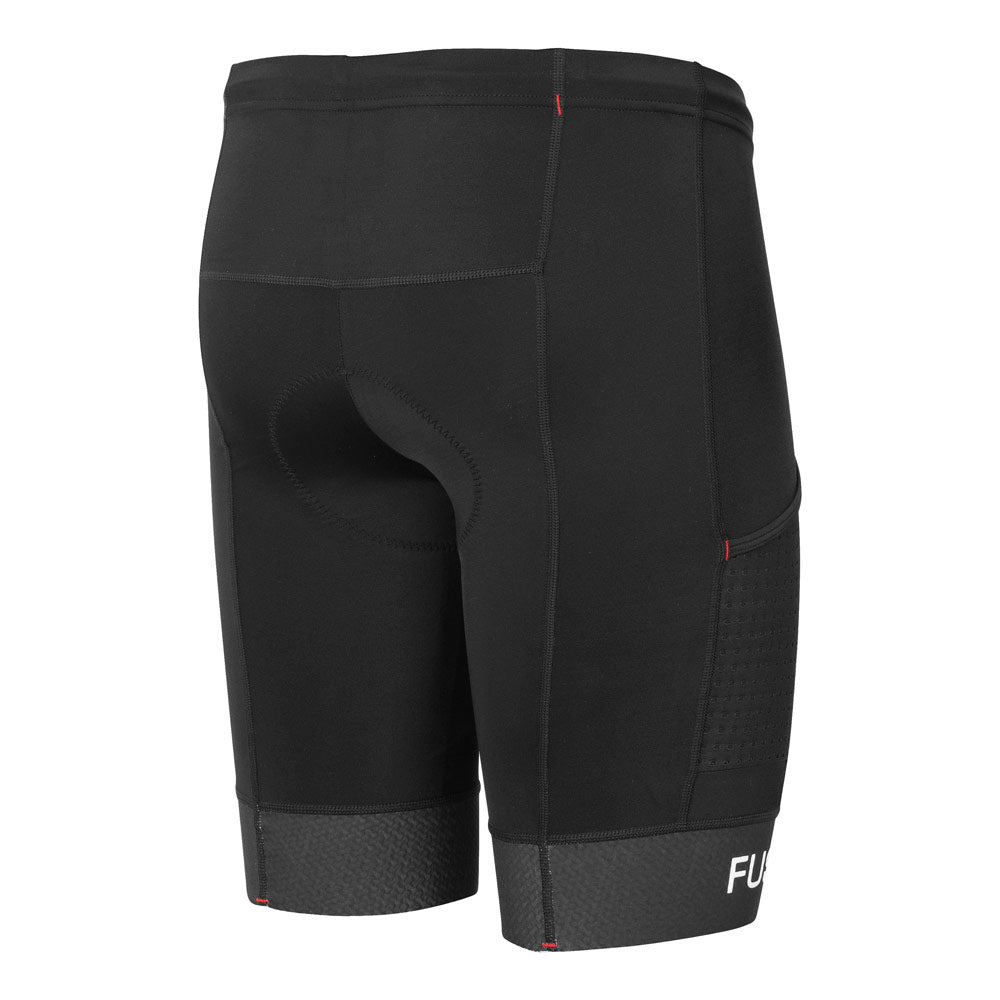 Fusion Tri PWR Band Shorts_Triathlon Shorts_Colour: Black/Black
