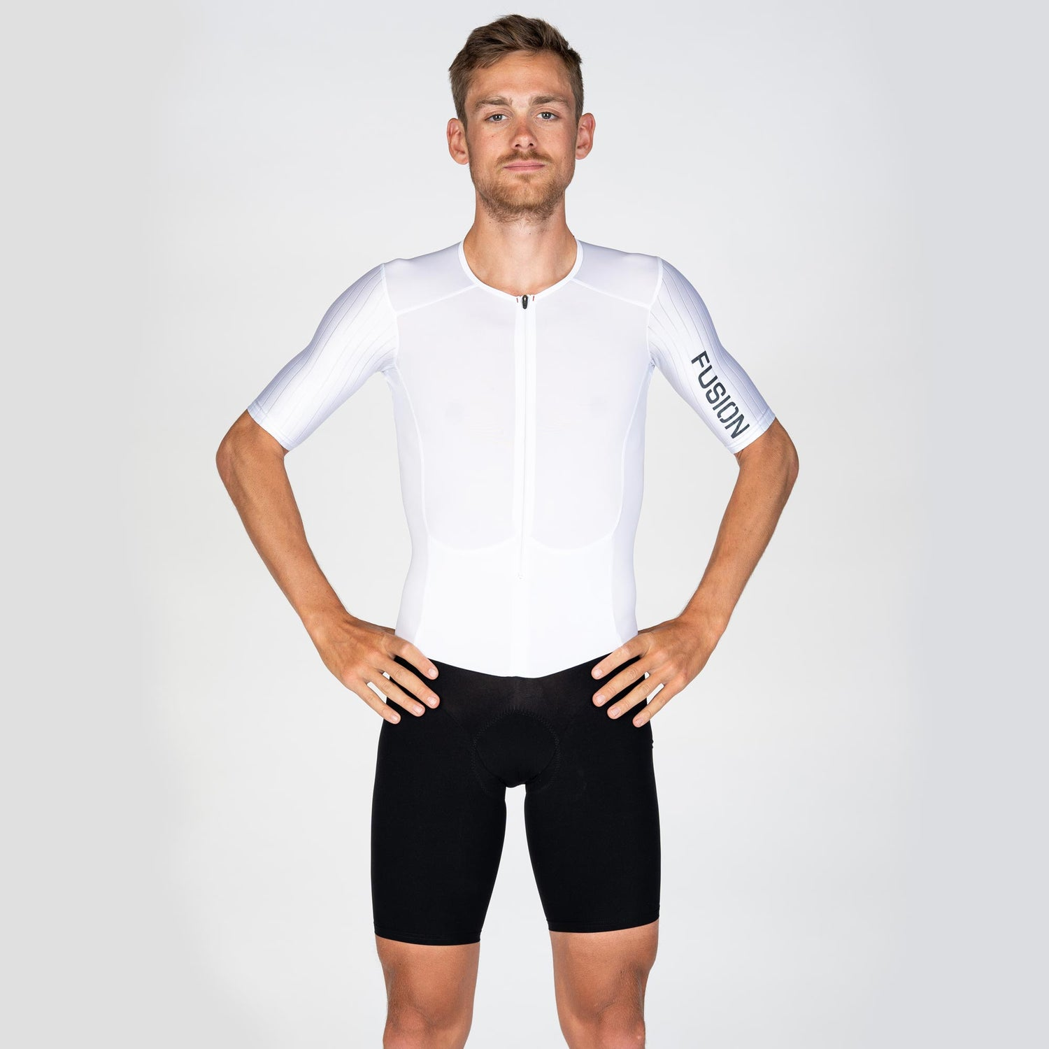 Fusion SLi (SuperLight) High Speed Suit_sleeved tri suit_front