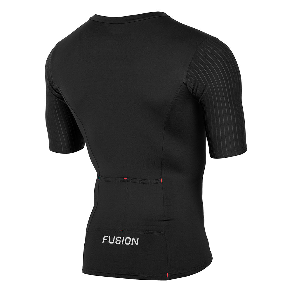 Fusion SLi Short Sleeve Triathlon Top (Black)