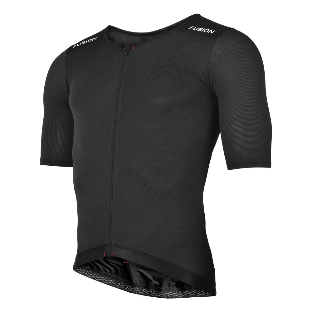 Fusion SLi Cycle Jersey 2.0_Colour: Black