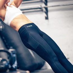 Fusion Womens C3+ Training Tights Long_Action