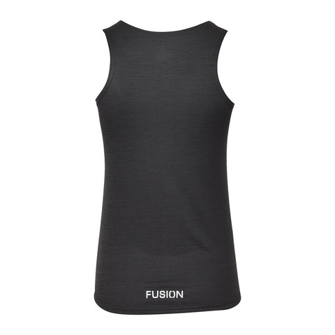 Fusion Womens C3 Training Singlet_Colour: Black