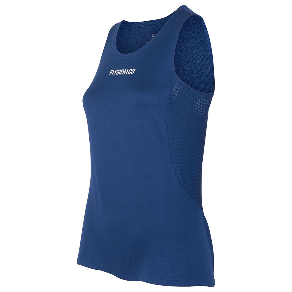 Fusion Womens C3+ Running Singlet_Colour: Surf