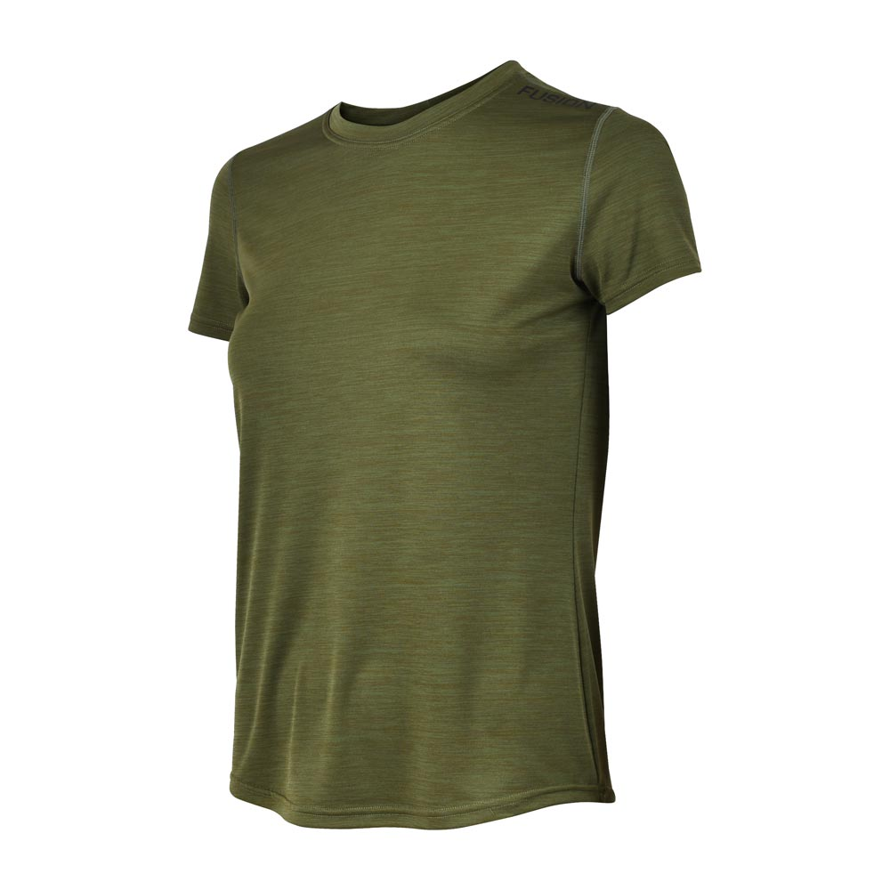 Fusion Womens C3 Training T Shirt_Colour: Green