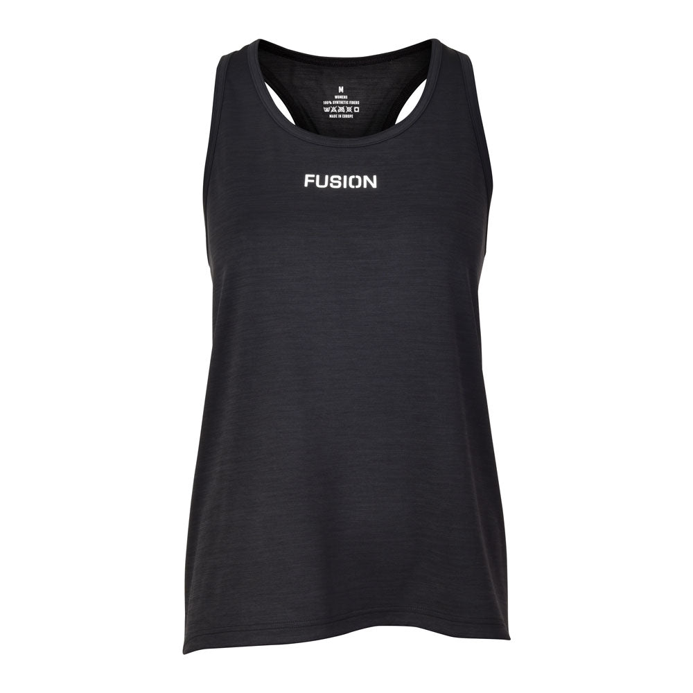 Fusion Womens C3 Singlet Training Racer Back_Colour: Green