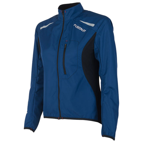 Fusion S1 Women's Shell Jacket_Running Cycling_Colour: Night