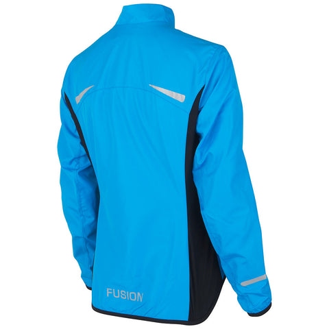 Fusion S1 Women's Shell Jacket_Running Cycling_Colour: Surf