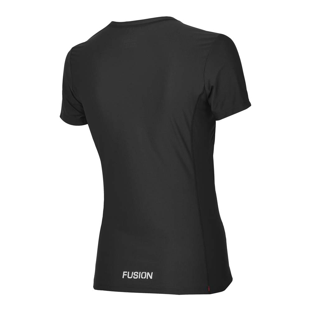 Fusion Women's SLi Technical Run T-Shirt_Colour: Black