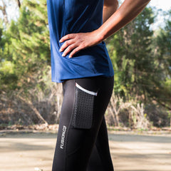 Fusion C3 3/4 Running Tights_Action