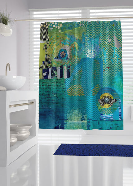 Afterlife Designer Shower Curtain
