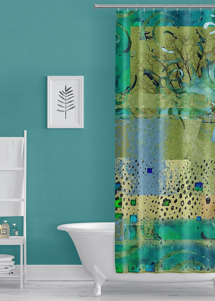 Beauty Designer Shower Curtain