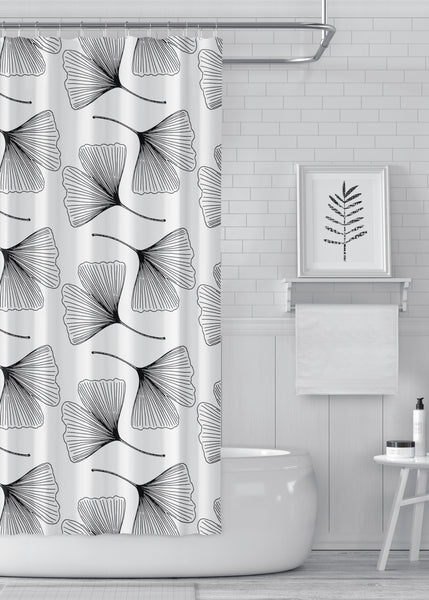 Ginkgo Designer Shower Curtain