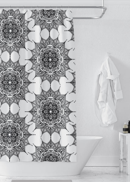 Mandala Designer Shower Curtain
