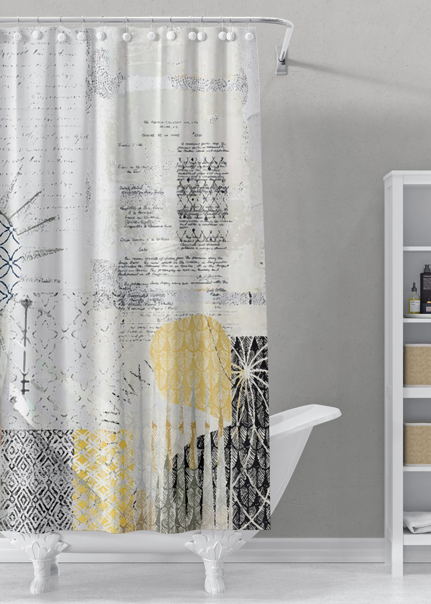 Morning Designer Shower Curtain by Sheree Burlington