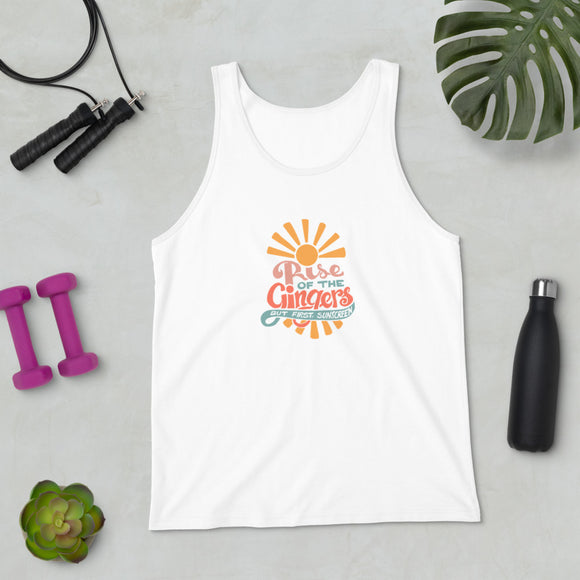 Rise of the Gingers, Unisex Tank Top