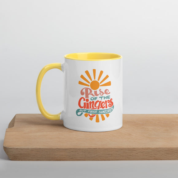 Rise of the Gingers Mug with Color Inside