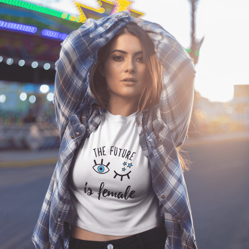 T-shirt Féministe <br> The Future is Female