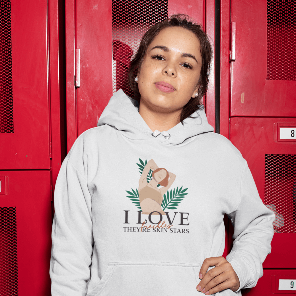 Hoodie Féministe <br> I Love Freckles