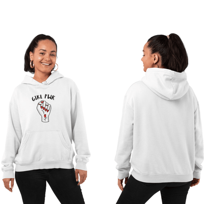 Hoodie Féministe <br> Rose Power