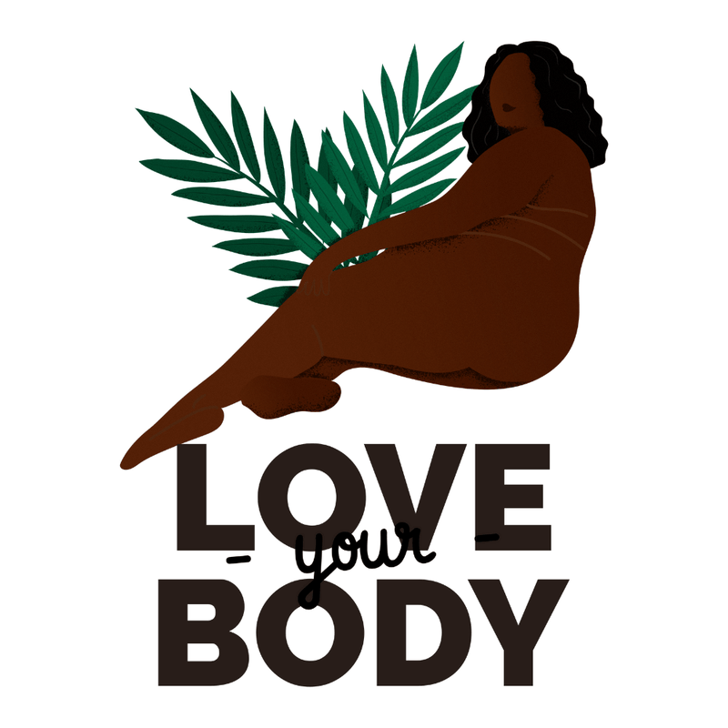 Gourde Féministe <br> Love Your Body