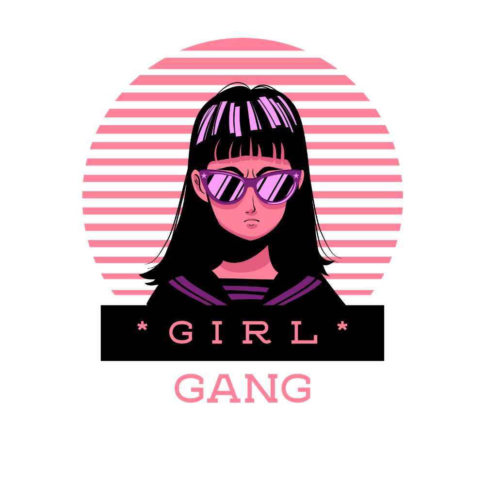 T-shirt Féministe <br> Girl Gang #3