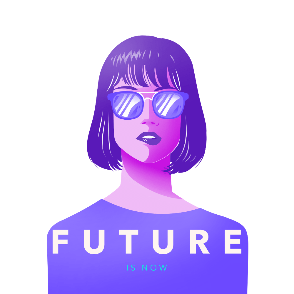 T-shirt Féministe <br> Future is Now #2
