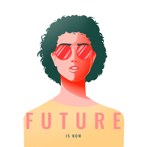 T-shirt Féministe <br> Future is Now #4
