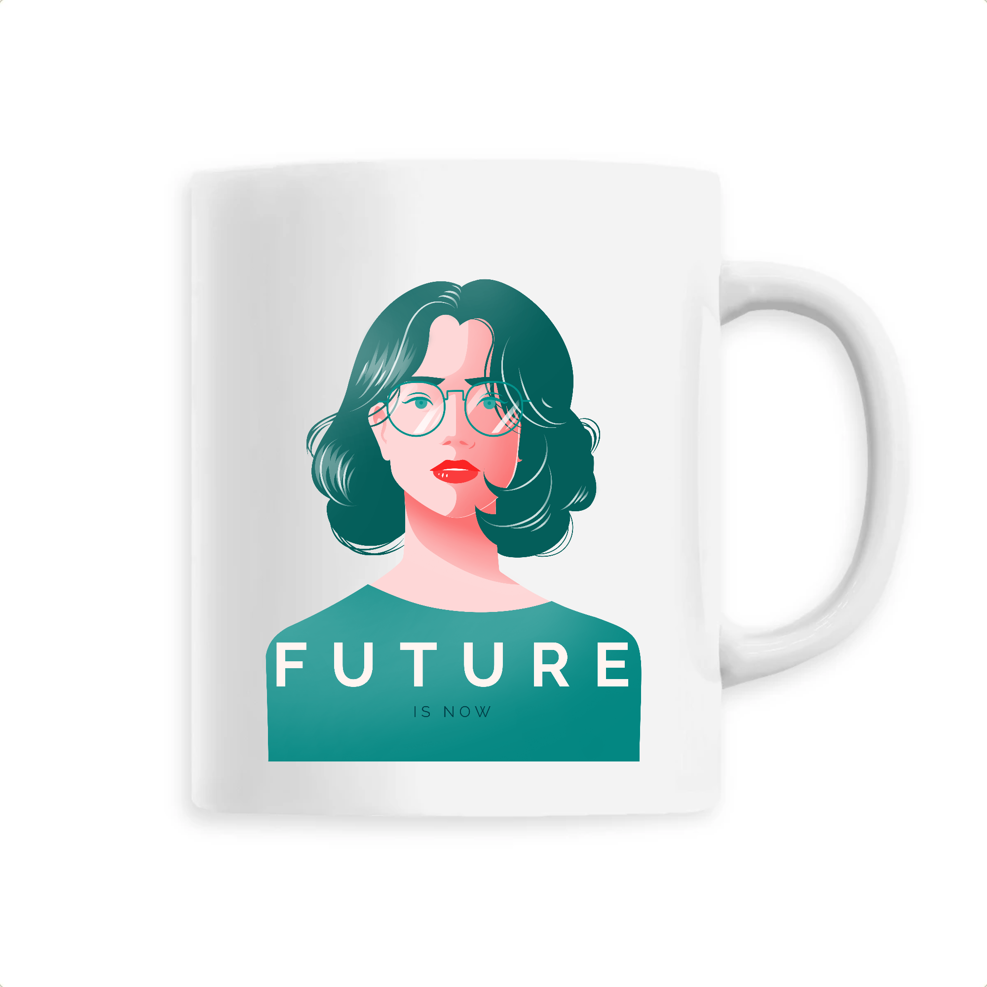 Mug Féministe <br> Future is Now #5