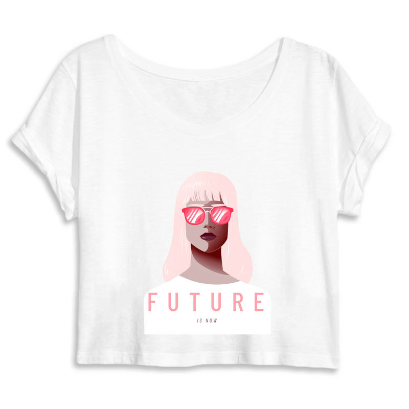 Crop Top Féministe <br> Future is Now #1
