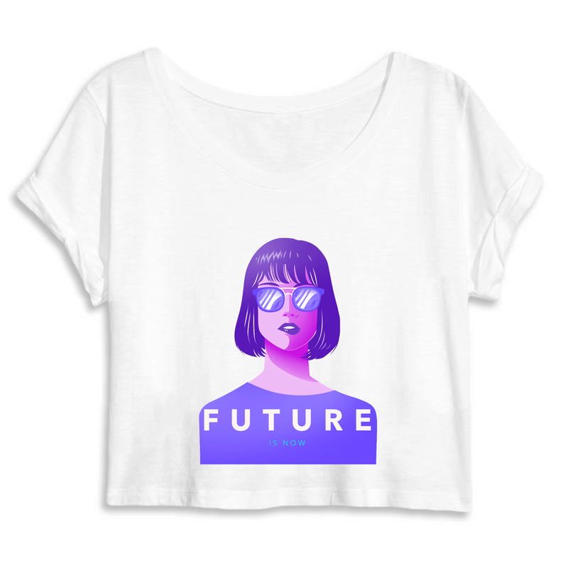 Crop Top Féministe <br> Future is Now #2