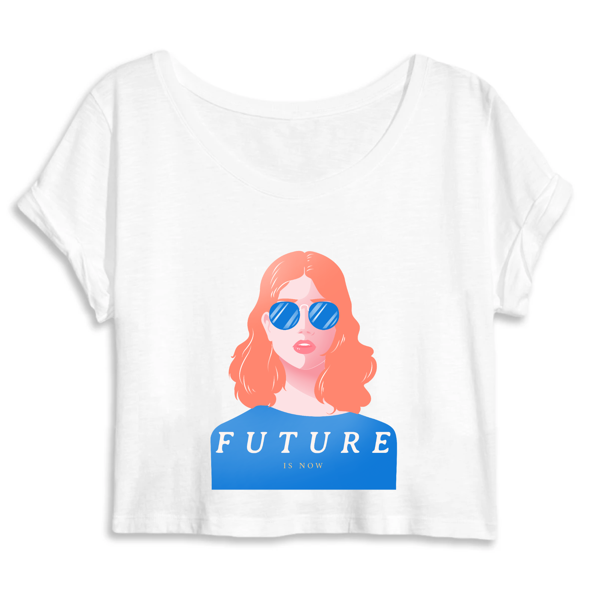 Crop Top Féministe <br> Future is Now #3