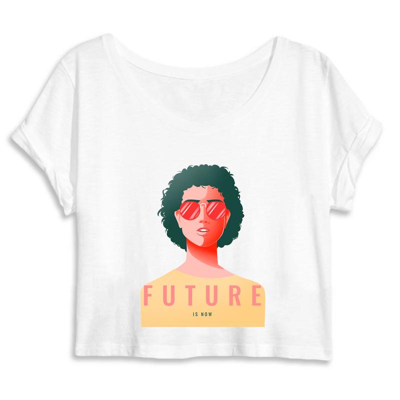 Crop Top Féministe <br> Future is Now #4