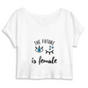 Crop Top Féministe <br> The future is female