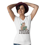 T-Shirt Féministe <br> Inked & Proud