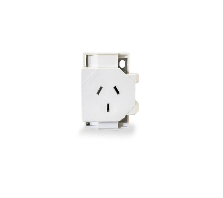 CLIXMO Quick Connect Socket Plug Base 10 Amp