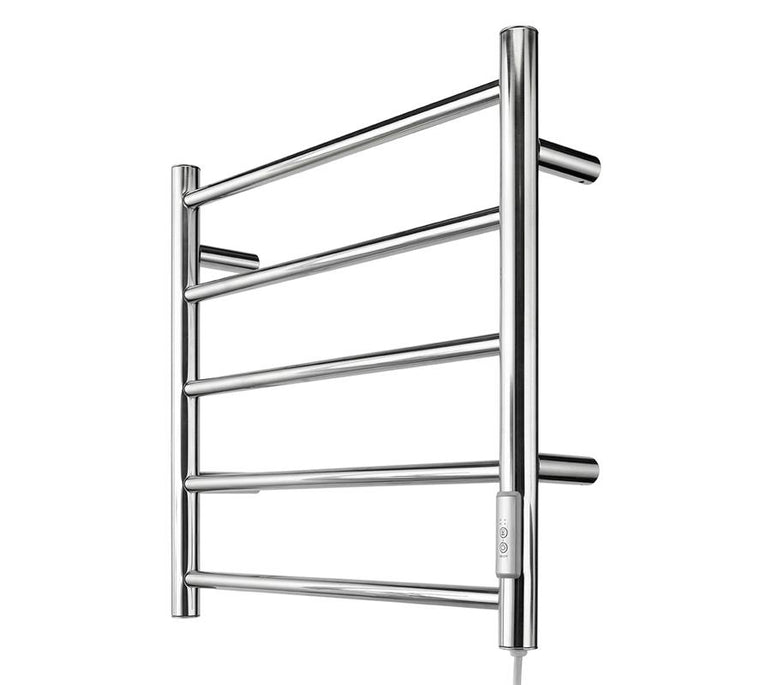 Heated Towel Rail Chrome Hidden Wiring