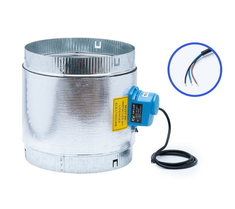 240V Motorized Zone Damper