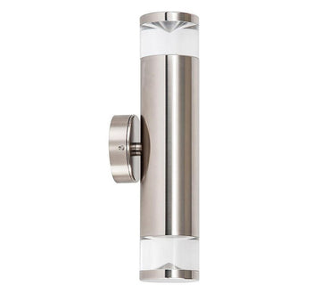 3A ST Cylinder Up & Down Wall Light Titanium