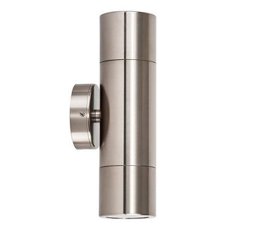 3A Cylinder Up & Down Wall Light Titanium
