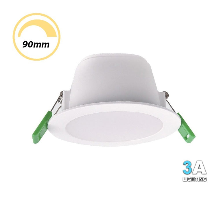 3A 10W LED Non Dimmable Downlight CCT DL1191