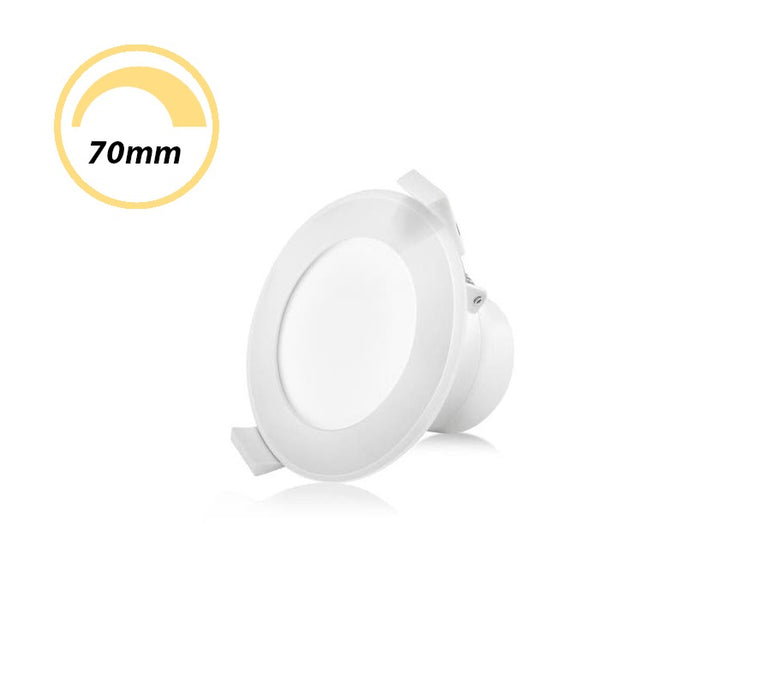 OLLIETEC 10W LED Dimmable Downlight CCT Flush OTC10TC70
