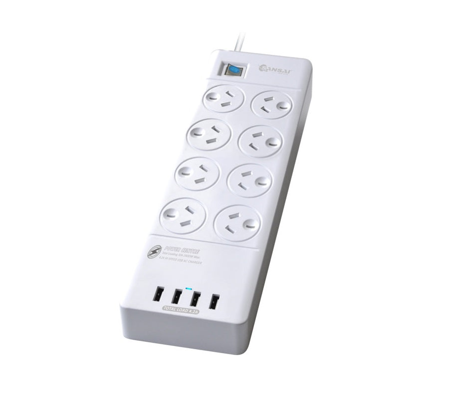 Sansai 8 Way USB Power Board