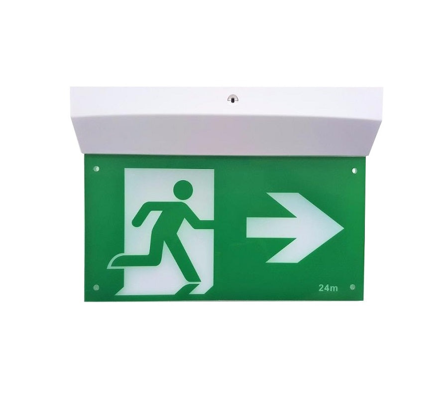 Crown B213 3W LED Emergency Exit Sign