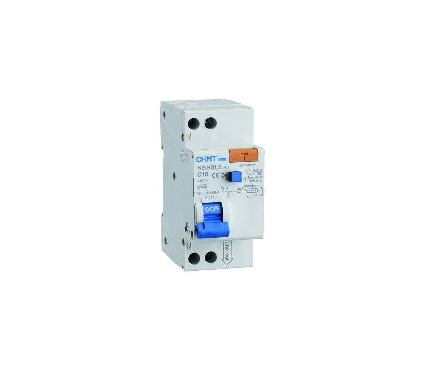 CHINT 2 Pole RCD 4.5kA